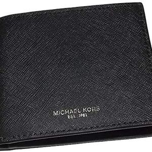 Michael Kors Andy Men's Black Billfold Wallet